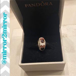 🎄Authentic Pandora Minnie Mouse Murano